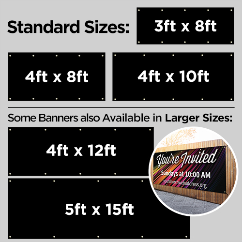 Banners, Summer - General, America Stars and Stripes - 3 x 8, 3' x 8' 4