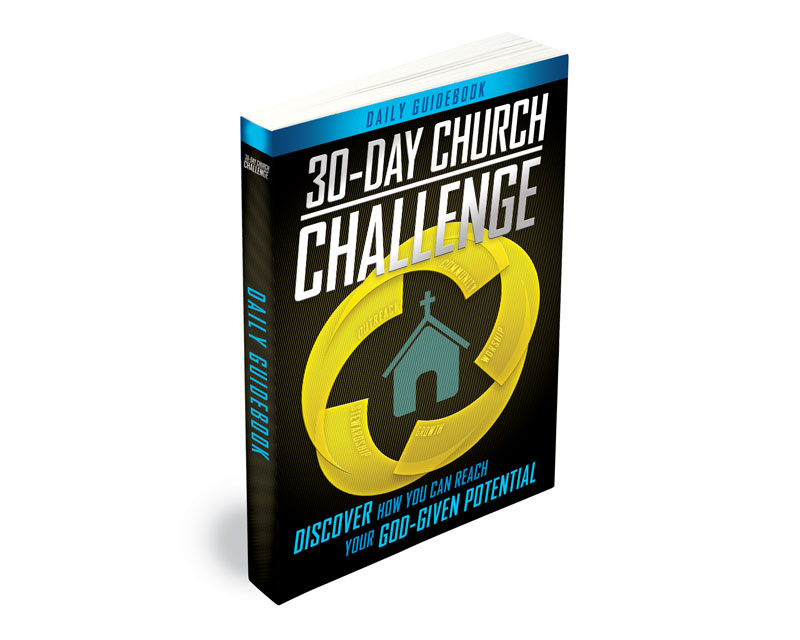 Small Groups, 30 Day Church Challenge, 30-Day Church Challenge Book