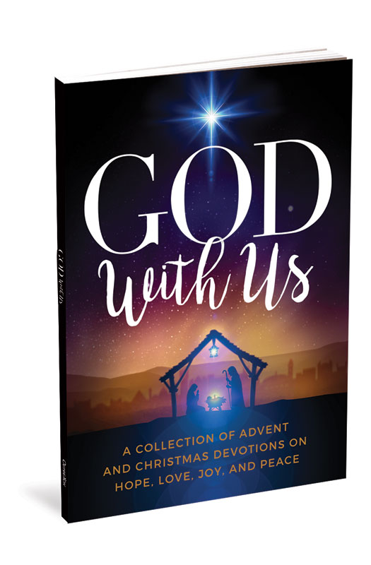 Outreach Books, Christmas, God With Us Advent Devotional gift book