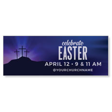 Aurora Lights Celebrate Easter