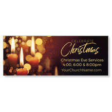 Celebrate Christmas Candles