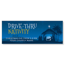 Drive-Thru Christmas Nativity