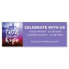 Easter Brings Hope Cross