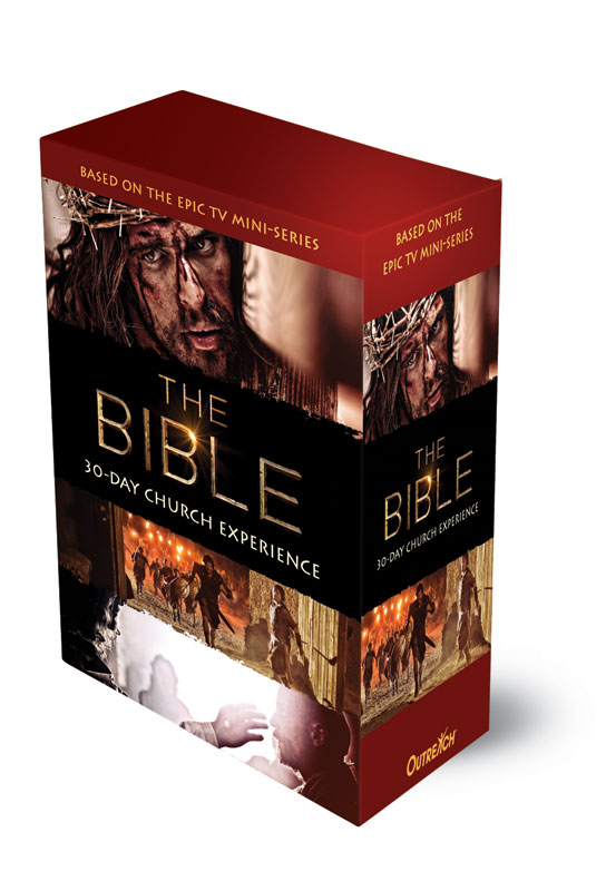 Campaign Kits, Easter, The Bible 30-Day Experience Church Kit