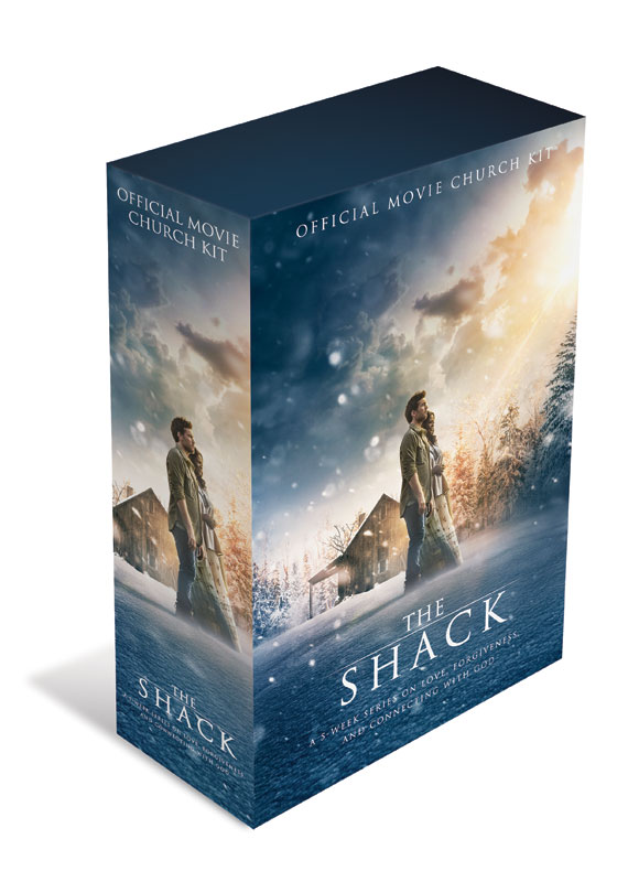 Campaign Kits, The Shack Movie, The Shack Official Movie Church Kit
