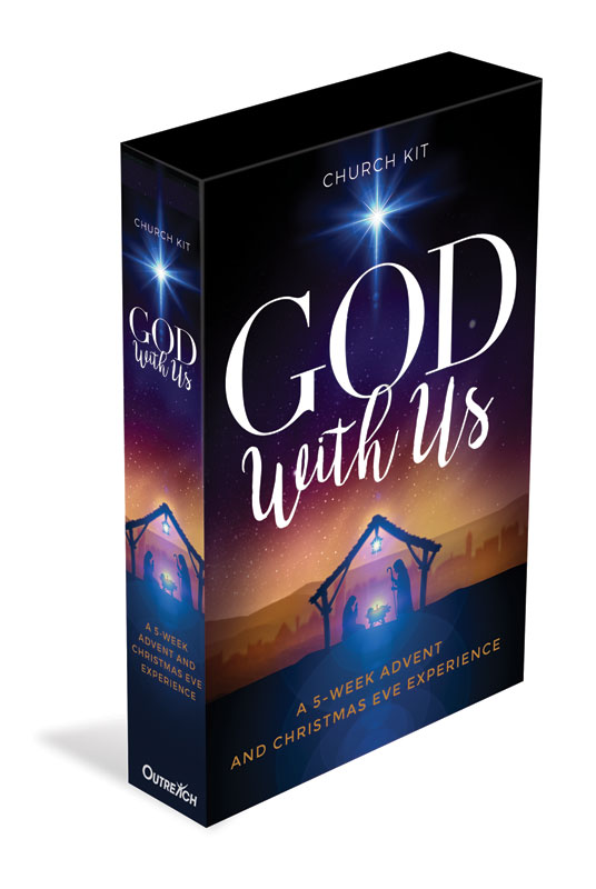 Campaign Kits, Christmas, God With Us Advent Church Kit