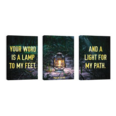 Light For My Path Triptych