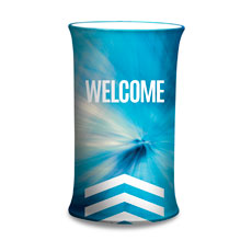 Chevron Welcome Blue
