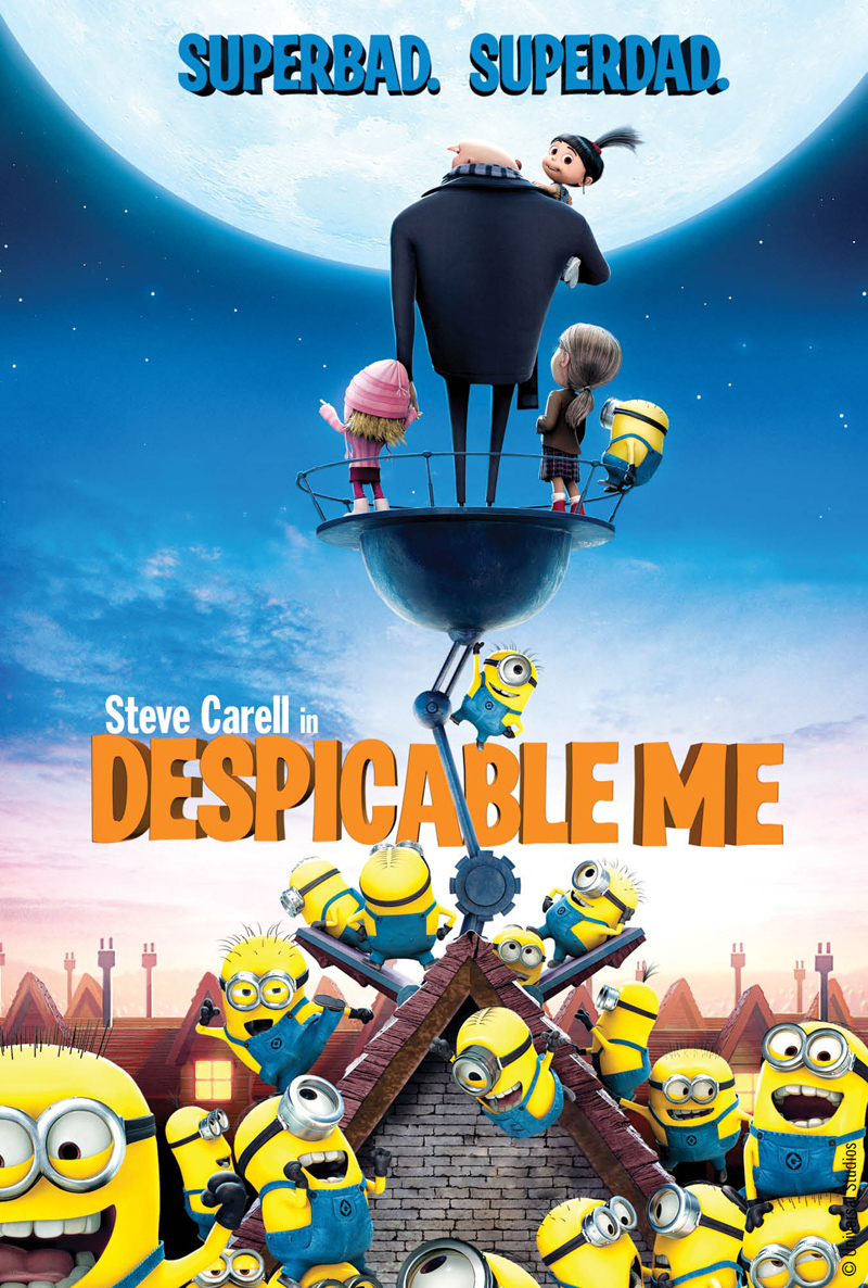 Movie License Packages, Films, Despicable Me