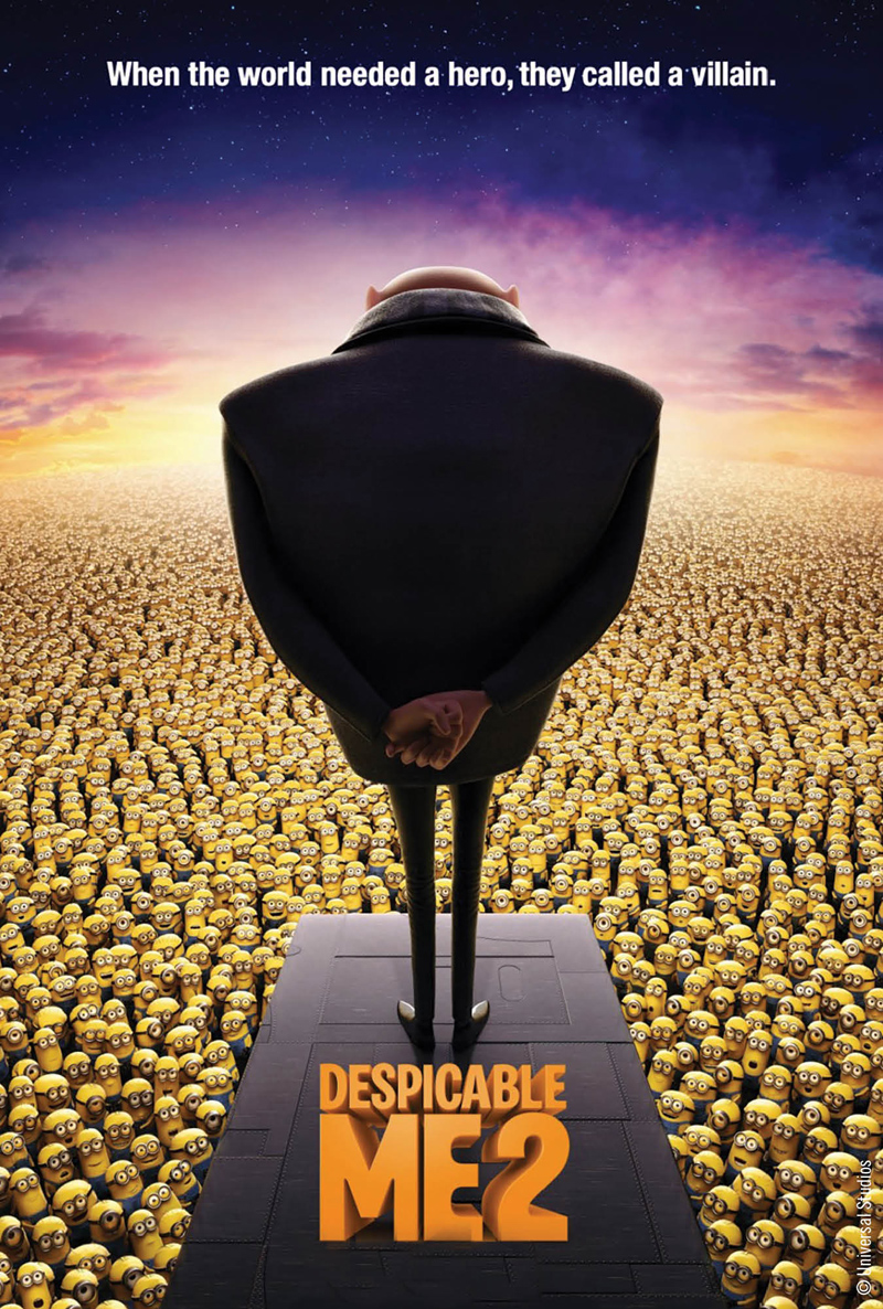 Movie License Packages, Films, Despicable Me 2