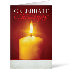 Celebrate Christmas Candle