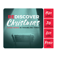 ReDiscover Christmas Advent Manger Set