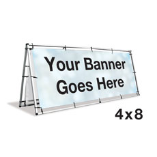 A-Frame Banner Stand - 4x8