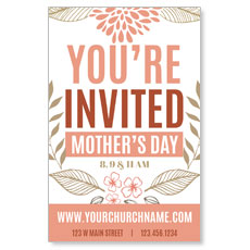 Flowers Invited Mothers Day