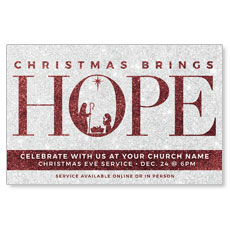 Christmas Brings Hope Sparkle