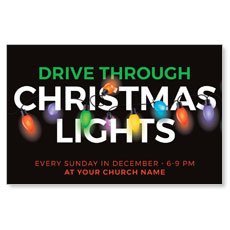 Drive Through Christmas Lights
