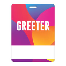 Curved Colors Greeter