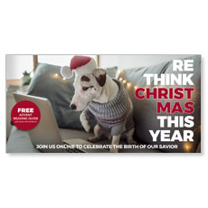 Rethink Christmas Dog