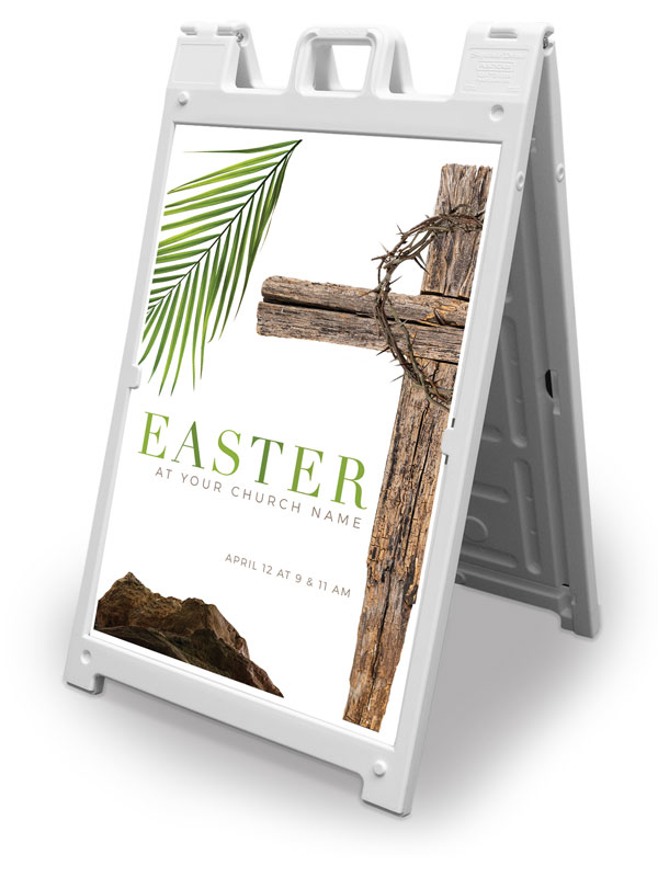 Banners, Easter, Easter Week Icons, 2' x 3'