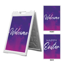 Love Never Fails Happy Easter Welcome