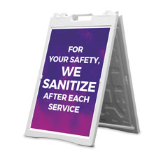 Love Never Fails We Sanitize