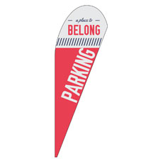To Belong Red Parking