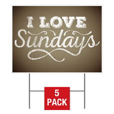 """I Love Sundays"""