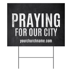 Slate Praying For Our City