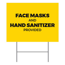 Yellow Masks Sanitizer