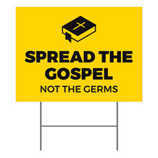 Yellow Spread the Gospel