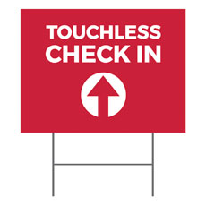 Red Touchless Check In
