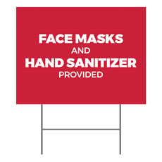 Red Masks Sanitizer